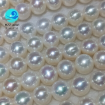 freshwater round pearl necklace